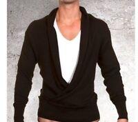 Judas Sinned mens BLACK top T shirt long sleeve designer Size Small medium large