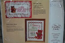 The Creative Circle Cross Stitch Kit 2429 A Beary Merry - New