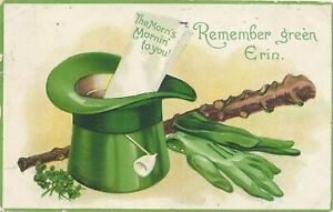 ST. PATRICK'S DAY - The Morn's Mornin' To You - 1911