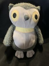 """Kohl's Cares Gray Owl Plush Toy 9"""" Aesop's Fables Hooty Owl X9"""