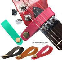 Akustisch Leder Straps Knopf für Halter Zubehör für Gitarren Strap (Gitarre)