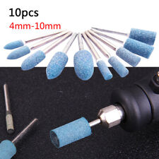 10Pcs Abrasive Mounted Stone Electric Grinding Accessories for Rotary Power Tool