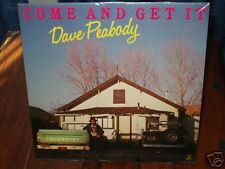 """DAVE PEABODY """"Come and get it""""   12"""" LP NEW"""