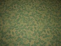 """Beautiful Leaf Pattern - Durable 56"""" Wide Upholstery Fabric - Sold by the Yard"""