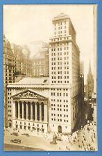 *NEW YORK-  STOCK EXCHANGE PHOTO POSTCARD 2594