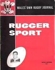 RUGGER SPORT - WELSH RUGBY MAG - DEC 1961 - 6th ED NEWPORT & RISCA BRYN MEREDITH