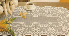 """Crochet Doily Pattern - """"Roses In The Oval"""""""