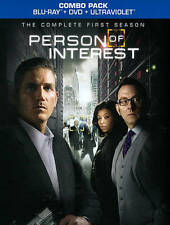 Person of Interest - First Season 1 One ... BluRay + DVD - COMBO PACK - No UV