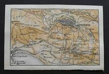 Antica Stampa=Topografica=AGRIGENTO=Scala1:50000 -1909c