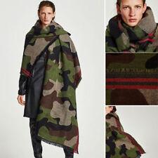 2018 Men Women Long Blanket Soft Cape Shawl Winter Camo Pashmina Soft Scarf Wrap