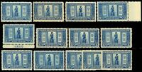 619, Mint NH 5c WHOLESALE LOT OF 13 STAMPS - Cat $390.00 - Stuart Katz