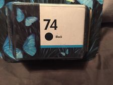 HP 74 Ink Cartridge Black GENUINE New In Box