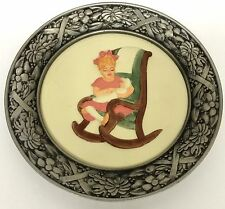 Sabastian Miniatures There Was A Time Collector Plate Little Mother Baston 1981