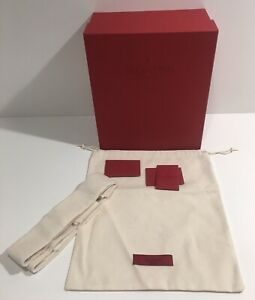 Valentino Garavani Authentic Couture Empty Shoe /Gift Box & Dust Bag 12 x 10 x 5