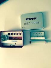 EMS Piezon Dry Work  mit EMS Handstück zum einsetzen vonTeilkronen Inlay