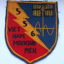 556 vietnam mountain men large  cloth patch