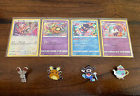 NEW Pokémon TCG Shining Fates Mad Party Promo Cards And Pins Lot