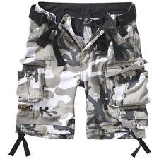 Brandit Savage Vintage Shorts S-7XL Herren Cargo Bermuda Army Short mit Gürtel