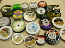 Mixed spools Fishing Tackle Mixed sized Fishing Line All sizes As Pictured(#3)