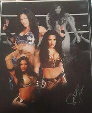 Melina Perez Signed 11x14 Photo WWE Diva MNM Auto