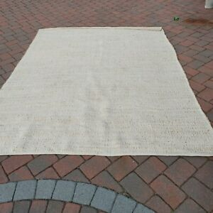 8 x 10 ft NEW Nuloom Rug BOHO Jute and cotton Rug Magnolia crate and barrel