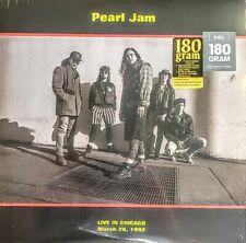 "PEARL JAM - LIVE IN CHICAGO  3/28/1992 - 180 GRAM VINYL ALBUM "" NEW, SEALED """