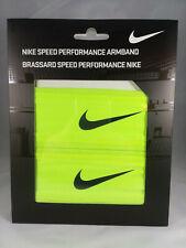 "Nike Adult Unisex Speed Performance 2 ½"" Bright Safety Yellow Armbands"