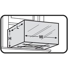 M-D WINDOW AIR  CONDITIONER COVER 87619 * 20-Inch by 28-Inch by 30-Inch