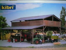 "Kibri-Walthers HO Wooden Barn Shelter 39095 ""KIT Form"" ->FAST SHIP!"
