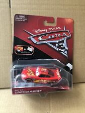 DISNEY CARS DIECAST- Rusteze Lightning McQueen With Collector Card & Mini Poster