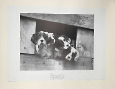 H. Armstrong Roberts - Four Puppies - 1989 - Offset Poster