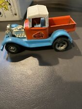 1960/'s Tonka Toy Car Red and Turquoise Rat Rod Tonka /'Scorcher/' Hot Rod