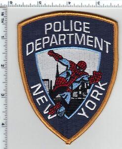 Spiderman Police Department Novelty Shoulder Patch