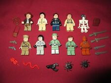 LEGO Indiana Jones Minifigures Lot,10  Figures Lots of accessories