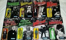 FUNKO Reaction UNIVERSAL MONSTERS set 8 CREATURE BLACK LAGOON FRANKENSTEIN BRIDE