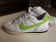 Vintage Nike Cortez Deadstock - Size 6 - 1997 (Rare) White And Lime Green