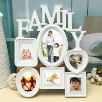 EG_ HK- Multi Photoframe Family Love Frames Collage Picture Aperture Wall Photo