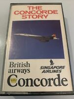 1979 British Airways Vintage Concorde tape cassette The Concorde Story