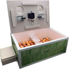 INCUBATOR AUTOMATIC IB-100 FOR 100 EGGS WITH FAN & DOUBLE PLASTIC CASE