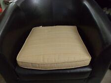 Brand New Cushion Tan Beige Rocking Chair Any Chair Ottoman 17 x 18 x 16 Velcro