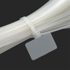 White Nylon Mark Tags Label Cable Ties Cord Wire Strap 3*100mm/4*150mm/4*200mm
