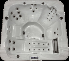 Pcs7000 - 6 Person Outdoor Whirlpool Lounger Spa Hot Tub with 46 Therapy Jets