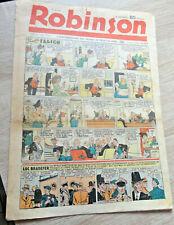 ROBINSON n°195 de 1940