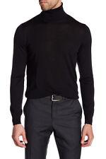 Giorgio Armani Men's Turtleneck 100% Virgin Wool Sweater Save $450!  Size 58 3XL