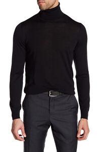 Giorgio Armani Men's Turtleneck 100% Virgin Wool Sweater Save $450!  Size 60 4XL