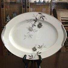 """Vintage Noritake Rosamor 5851 Oval Serving Platter 12"""" - EUC Japan"""