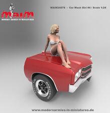 1:24 Scale Beauty posing - Car Wash Girl # 4