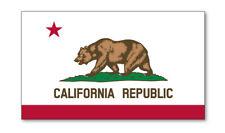 2 X California Emblème Drapeau Vinyle Autocollants Voiture Van Camion Taxi, camion