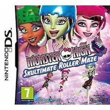 Nds Nintendo Ds Dsi Lite XL Gioco Monster High - Labyrinth-Skaten Nuovo