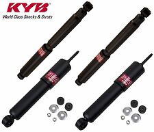 Pair Set of 2 Rear KYB Gas-a-just Shock Absorbers Monotube Performance Upgrade For Nissan Frontier 2005-2017